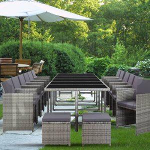 17x Outdoor Dining Set