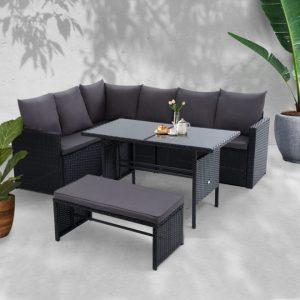 8x Outdoor Dining Set
