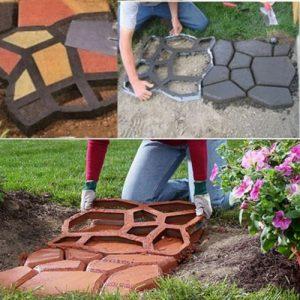 Garden & Stepping Stones