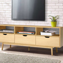 Wood TV Unit
